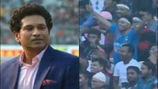 Pink-Ball Test: Eden Gardens Crowd Chant 'Sachin, Sachin' During Historic Day/Night Test Between India-Bangladesh at Kolkata | WATCH VIDEO