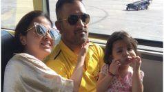 चेन्नई सुपर किंग्स ने साक्षी धोनी को दी जन्मदिन की बधाई, Queen of the Jungle का टाइटल दिया