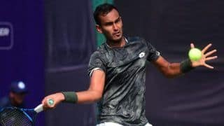 Davis Cup 2019: Sasi Kumar Mukund Pulls Out of Pakistan Match Due to Foot Injury