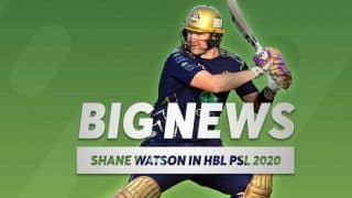 Shane Watson Returns to Pakistan Super League, Included in Platinum Category For PSL Draft
