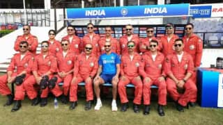 Ind v ban indian cricketers meet air force pilots ahead of 3rd t20