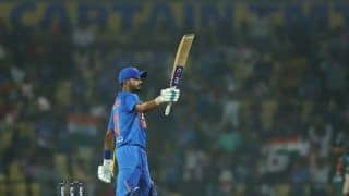 3rd T20I: Shreyas Iyer Half-Century Resurrects India After Rohit Misfires