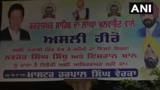 Days Ahead of Kartarpur Corridor Inauguration, Posters of Sidhu, Imran Khan Appear in Punjab