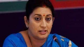 Smriti Irani Registers Objection Against Rahul Gandhi's 'Rape in India' Remark With Election Commission