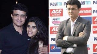 Sourav's Daughter Comes up With Cheeky Reaction on Dad's Grumpy Picture | POST