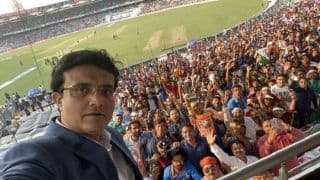 Day-Night Test Felt Like a World Cup Final: Sourav Ganguly