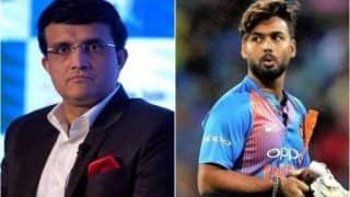 BCCI Chief Ganguly Backs Struggling Pant, Calls Him 'Superb Player'