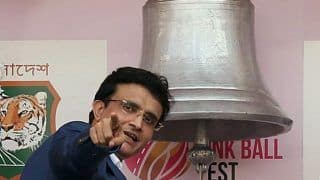 BCCI President Ganguly Wants to Take Pink Ball Popularity to All Parts of India