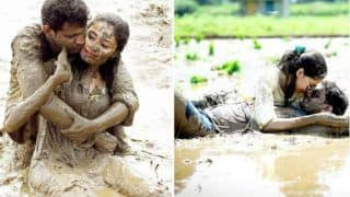 Newly Married Couple Poses in Muddy Field For Post-Wedding Photoshoot, Netizens Are Left in Splits