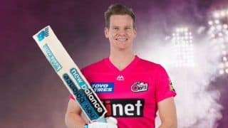 Big Bash League: Sydney Sixers Sign Steve Smith