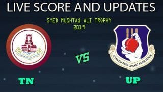 Tamil Nadu vs Uttar Pradesh Dream11 Team Prediction Syed Mushtaq Ali Trophy 2019: Captain And Vice-Captain, Fantasy Cricket Tips TN vs UP Round 3, Group B Match at Greenfield International Stadium, Thiruvananthapuram 10.00 AM IST