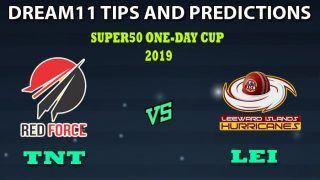 TNT vs LEI Dream11 Team Prediction Super50 Cup 2019: Captain And Vice-Captain, Fantasy Cricket Tips Trinidad & Tobago vs Leeward Islands 2nd Semifinal at Queen's Park Oval, Port of Spain, Trinidad 11:00 PM IST