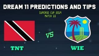 Trinidad & Tobago vs West Indies Emerging Team Dream11 Team Prediction Super50 Cup 2019