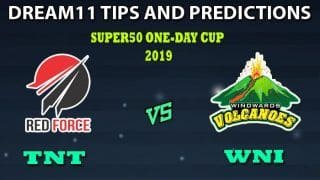 Trinidad & Tobago vs Winward Islands Dream11 Team Prediction Super50 Cup 2019: Captain And Vice-Captain, Fantasy Cricket Tips TNT vs WNI Group B Match at Brian Lara Stadium, Tarouba, Trinidad 11:00 PM IST