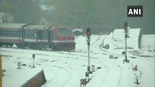 Inspection of Tracks, Trial Run of Trains Done in Valley, Day Before Services Scheduled to Resume