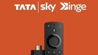 Tata Sky customers can get an Amazon Fire TV Stick for free: Here's how