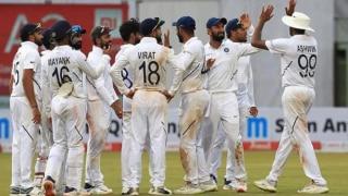 PinkBallTest, INDvBAN: बांग्लादेश की पहली पारी 106 रन पर सिमटी