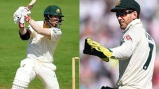 Aus vs pak 2nd test david warner fans annoyed as skipper tim paine declare inning at 589 3