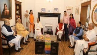 LK Advani's 92nd Birthday: PM Modi, Shah And BJP Top Brass Meet 'Margdarshak' at His Residence