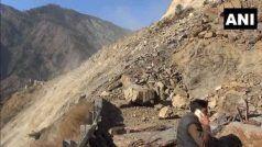 जम्मू-श्रीनगर राजमार्ग पर भूस्खलन में उत्तरी कश्मीर के DIG और उनके चालक की मौत