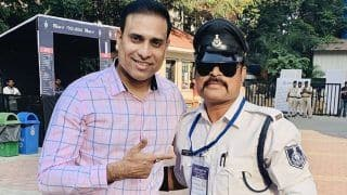 Cricket: VVS Laxman Left Stunned by Indore's World Famous Dancing Traffic Cop