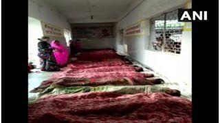 लापरवाही की हद: पीएचसी में नसबंदी करके 13 महिलाओं को जमीन पर लिटाया