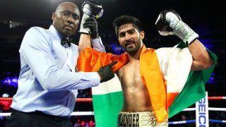 Vijender Singh Beats Ghana's Charles Adamu, Claims 12th Successive Professional Win