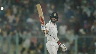 Virat Kohli Slams 27th Test Century During Historic Pink-Ball Test Against Bangladesh at Eden Gardens, Netizens Hails India Captain | SEE POSTS
