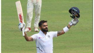 Pink Ball Test INDvBAN:  'किंग' कोहली ने लगाई रिकॉर्डों की झड़ी, पिंक बॉल से शतक जड़ने वाले पहले भारतीय बने