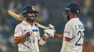 Pink Ball Test: Virat Kohli Becomes Fastest Captain to 5000 Test Runs, Smashes Ricky Ponting's Record