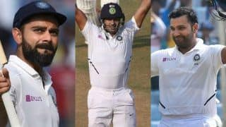India vs Bangladesh 2019: India First Team in Test History to Register Four Consecutive Individual Double Hundreds