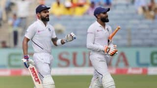 When ravindra jadeja is in the group its impossible to outrun him say virat kohli