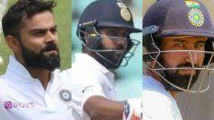 INDvBAN, 1st Test: विराट कोहली, रोहित शर्मा और चेेतेश्वर पुजारा के निशाने पर होंगे ये रिकॉर्ड