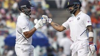 IND vs BAN Pink-Ball Test: Virat Kohli-Ajinkya Rahane Achieve Another Feat, Become Second-Leading Pair to Score Most Runs For Fourth Wicket in Test Cricket