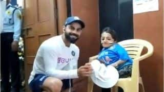 Virat Kohli's Warm Gesture For Young Fan After India Thrash Bangladesh in 1st Test Indore Will Win Your Heart | WATCH VIDEO