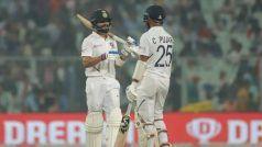 PinkBallTest, INDvBAN: इशांत के 5 विकेट हॉल के बाद कोहली-पुजारा ने दिलाई टीम इंडिया को बढ़त