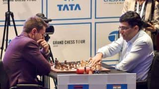 Chess: Viswanathan Anand Has Another Mixed Day, Magnus Carlsen Extends Lead