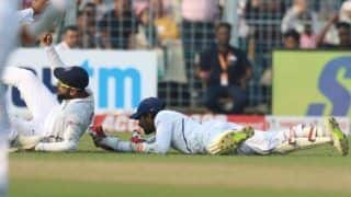 Pinkballtest indvban wriddhiman saha join ms dhoni syed kirmani 100 dismissal club in test cricket