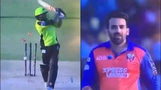 Zaheer Khan Rolls Back Years, Picks up Wicket With Slower Yorker During Abu Dhabi T10 Match | WATCH VIDEO
