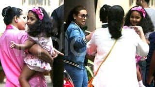 First Pictures: Rani Mukerji's Daughter Adira Chopra Clicked For The First Time in 3 Years