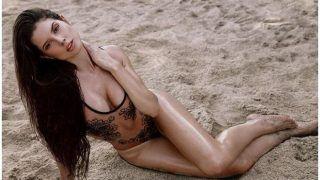 Amanda Cerny ने हॉट बिकिनी पहन मचाई सनसनी, ये वीडियो देख कुछ-कुछ हो जाएगा