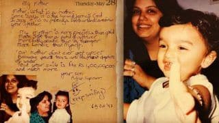 Arjun Kapoor Shares Old Poem That he Wrote to Mom as Kid; Beauty of Emotional Post Will Make You Bless Him