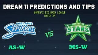 Adelaide Strikers Women vs Melbourne Stars Women Dream11 Team Prediction WBBL