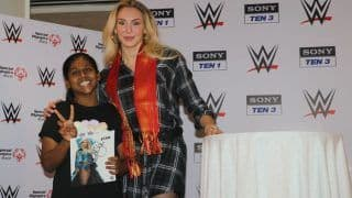 WWE Superstar And 10-Time WWE Woman's Champion, Charlotte Flair Celebrates Children's Day With The Kids From Special Olympics Bharat