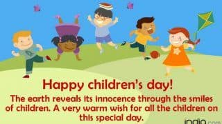 Happy Children's Day 2019: Best Bal Divas Wishes, WhatsApp Status & Facebook Messages, SMS & Quotes to Wish