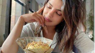 Priyanka Chopra Gorges on Delhi Delicacy 'Daulat Ki Chaat' And We Can't Resist to Eat
