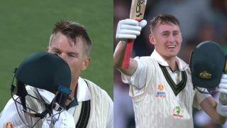 2nd Test: David Warner, Marnus Labuschagne Hit Centuries on Rain-Hit Opening Day