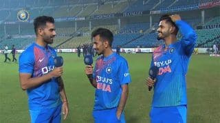 'Bade Besharam Aadmi Ho Tum' – Yuzvendra Chahal's Playful Banter With Deepak Chahar For Breaking His Record