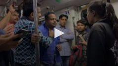 दीपक कलाल ने दिल्ली मेट्रो में की ऐसी हरक़त, लड़की ने जड़ा जोरदार थप्पड़, वीडियो वायरल
