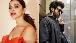 Deepika Padukone Asks Kartik Aaryan to Teach Her 'Dheeme Dheeme' Step, he Replies 'Bataiye kab?'